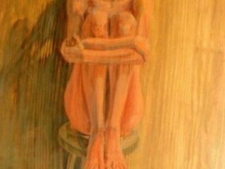 oil-on-wood