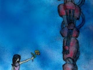 robot-and-girl